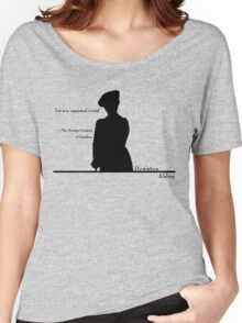 Lie is so unmusical a word Women's Relaxed Fit T-Shirt