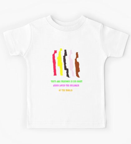 They Are Precious in His Sight Kids Tee