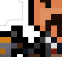 Pixel Mafia Graves Sticker
