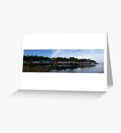 Tobermory Panoramic, Scotland Greeting Card