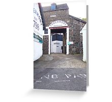 Tobermory Distillery Greeting Card