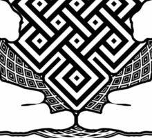 KAUR WELLNESS KAURWELLNESS.ORG OFFICIAL MERCH 22-2 MANDALA PURE Sticker