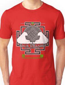 KAUR WELLNESS KAURWELLNESS.ORG OFFICIAL MERCH 22-2 QR Unisex T-Shirt
