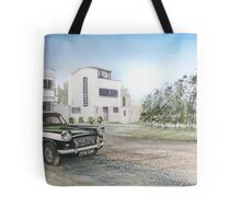 Like the colours in the January sky Tote Bag
