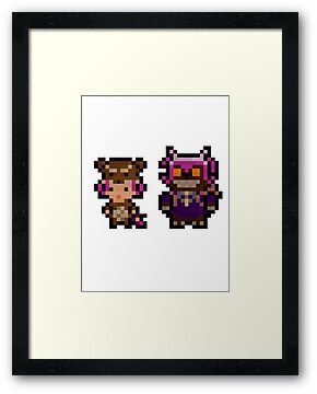 Pixel Reverse Annie (and Tibbers) by Pixel-League