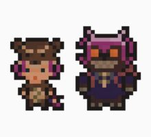 Pixel Reverse Annie (and Tibbers) Kids Clothes