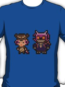 Pixel Reverse Annie (and Tibbers) T-Shirt