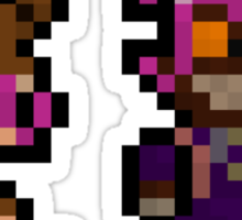 Pixel Reverse Annie (and Tibbers) Sticker
