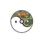 Safari Ball Yin and Yang by TailsP