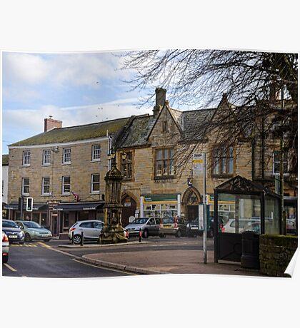 Around Axminster-Devon UK Poster