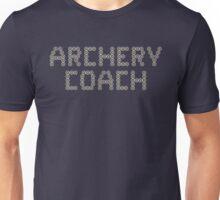 ArCHErY CoAcH (mini targets) Unisex T-Shirt