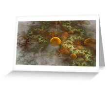 Spherical Worlds Greeting Card