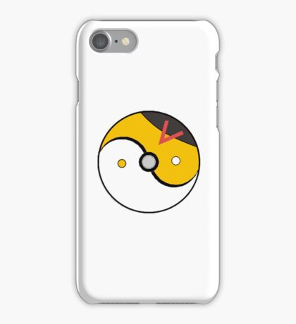 Level Ball Yin and Yang iPhone Case/Skin