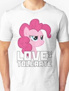 Pinkie Pie - Love And Tolerate Unisex T-Shirt