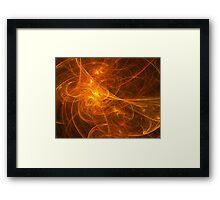 Fractal - Habanera Framed Print