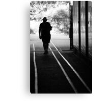 Vision of life in New York Canvas Print