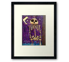 Saturday Night Bone Dance Framed Print
