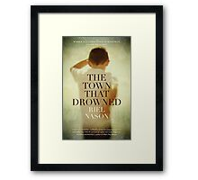 Book Cover - The Town That Drowned Framed Print