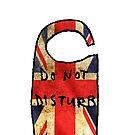 Do Not Disturb - Union Jack by appfoto