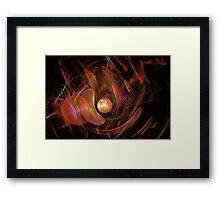 Fractal - Life Origins Framed Print