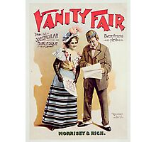 Vanity Fair, printed by Calvert Litho. Co., Detroit, c.1898 Photographic Print