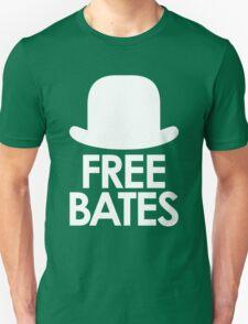 Free Bates white design Unisex T-Shirt