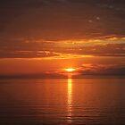 Ocean Sunset by Sheryl Hopkins