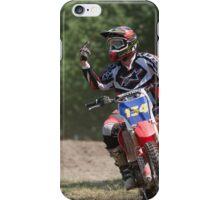 Moto X Giving the bird iPhone Case/Skin