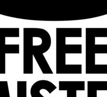 Free Mister Bates black design Sticker