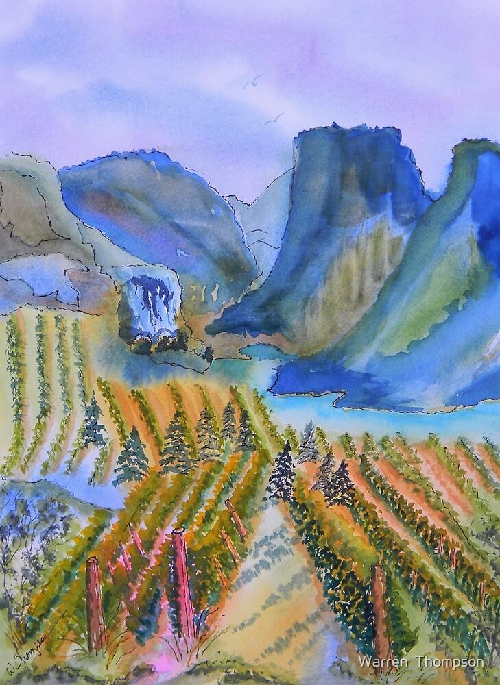 Okanagan Vineyard 2 by Warren  Thompson