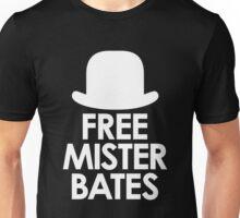 Free Mister Bates white design Unisex T-Shirt