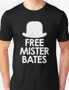 Free Mister Bates white design T-Shirt
