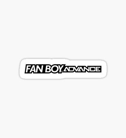 Fan Boy Advance GBA Console Sticker