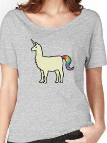 Llamacorn Women's Relaxed Fit T-Shirt