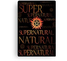Supernatural In Red Canvas Print