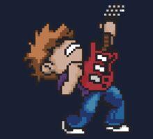 Pixel Guitarist Kids Clothes