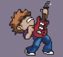 Pixel Guitarist by Sean Merricks
