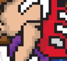 Pixel Guitarist Sticker