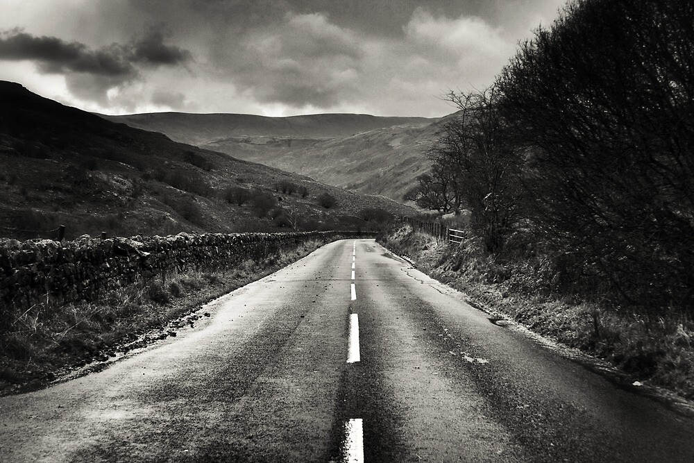 On the road by Oli Johnson