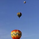 Pretty Balloons, All In A Row by Gene Walls