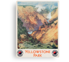 Yellowstone Park, 1934 Canvas Print