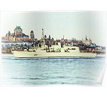 HMCS Ville De Quebec Poster