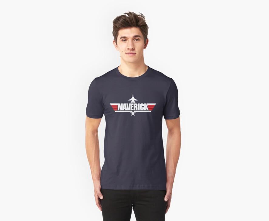 Custom Top Gun Style - Maverick by CallsignShirts