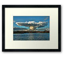 Sombrero Cloud Framed Print