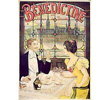 Advertisement for Benedictine Photographic Print