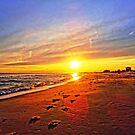 Super Bowl Sunset 2013, Fire Island by chipster