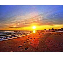 Super Bowl Sunset 2013, Fire Island Photographic Print