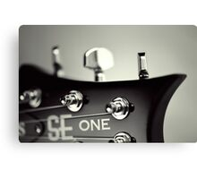 PRS SE One Headstock Canvas Print