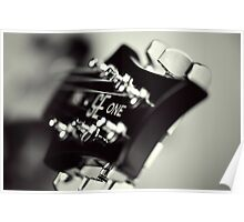 PRS SE One Headstock 2 Poster