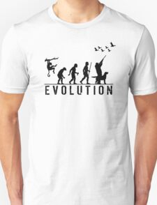 Funny Evolution of Duck Hunting  T-Shirt